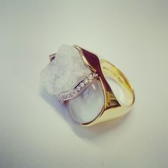 Friday #sparkle :) fab cocktail ring by @kararossny #jewellery #ring #fashion #finejewellery #anotherdayintheoffice