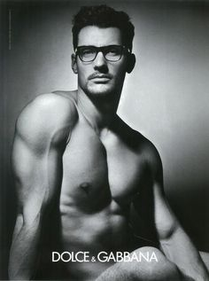 Hey four eyes... Highest paid male model in the UK and I think the industry at the moment. You would be too if you could sell glasses in your birthday suit.  :)