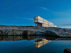 Fogo Island Lodge, Newfoundland, Canada
