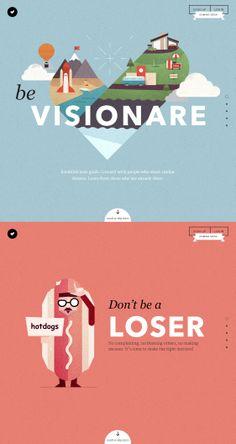 #Visionare no #loser #illustration