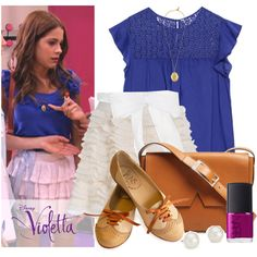 Sets inspired by the outfits of the cast of Violetta. #Violetta #Disney