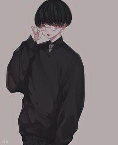 Dark Anime, Cute Anime Guys, Cute Anime Couples, Kawaii Anime, Manga Anime, Character Art, Character Design, Kawaii Tattoo, Handsome Anime