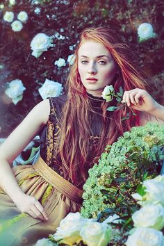 Sophie Turner for Town and Country Magazine (March 2015)