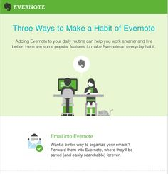Three Good Ways to Be Productive With Evernote ~ Educational Technology and Mobile Learning