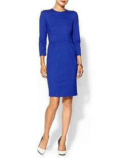 Nanette Lepore Rabat Dress | Piperlime Love the color and lines of this dress
