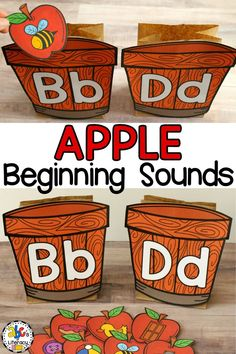 This Apple Beginning Sounds Sort is a fun, hands-on way to practice identifying letter sounds at the beginning of a word.  You can easily differentiate this letter sound sort for preschool, kindergarten, and first grade students. This Fall activity is perfect for literacy centers, morning tubs, or as an enrichment activity for early finishers. Click on the picture to learn more about this beginning sound picture sort! #beginningsoundpicturecards #lettersoundsort #applebeginningsoundssort