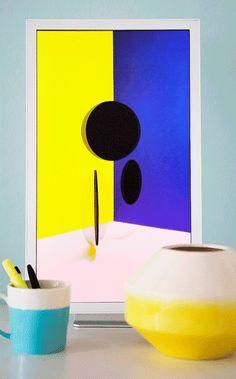 Electric Objects Digital art platform- a computer made for art- via happymundane.com
