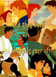 My favorite words-from Every Disney Princess tale!  Don't we all have a little princess in us.  Some day my prince will come! :)