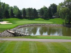 16th Hole  Great Oaks Country Club  Rochester Michigan