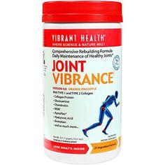 Vibrant Health - Joint Vibrance - Comprehensive Rebuilding Formula Daily Maintenance of Healthy Joints, 13.1 ounce (FFP) -- For more information, visit image link.