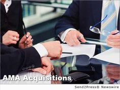 AMA Acquisitions is seeking to buy operating companies with annual revenues between 1M to 10M :: NEW YORK, N.Y., Jan. 13, 2015 (SEND2PRESS NEWSWIRE) -- AMA Acquisitions is a private equity firm in New York State that has a credit facility in place to make acquisitions of companies in manufacturing, distributing and other major industries through debt and equity financing.