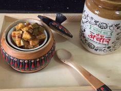 Shobha's Food Mazaa: HING WALA AAM KA ACHAR / MANGO PICKLE WITH ASAFOETIDA