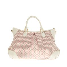 Louis Vuitton Marina Mini Lin Croisette GM | From a collection of rare vintage top handle bags at https://www.1stdibs.com/fashion/handbags-purses-bags/top-handle-bags/