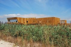 Image 9 of 18 from gallery of EVOA - Environmental Interpretation Center / Maisr Arquitetos. Photograph by Filipa Miguel Ferreira Environment, Cabin, Architecture, House Styles, Gallery, World, Image, Home, Buildings