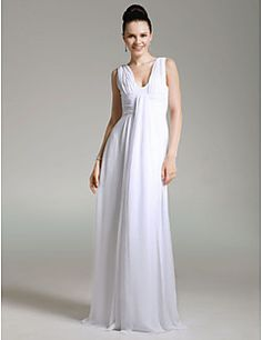 Chiffon Sheath/ Column V-neck Floor-length Evening Dress Get amazing discounts up to 70% Off at Light in the Box with Coupon and Promo Codes.