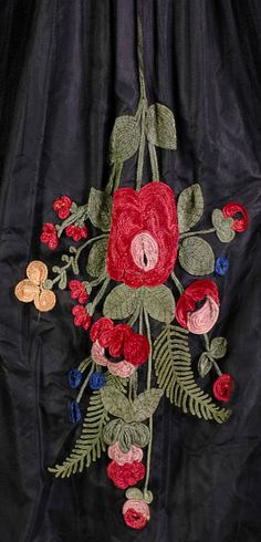 Evening dress (detail) attributed to House of Lanvin (French, founded 1889), Jeanne Lanvin (French, 1867–1946), circa 1920.