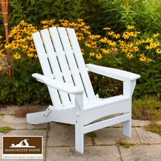 Catch the height of foliage season in our beautiful Adirondack Chair made locally in the Adirondack Mountains of New York. Shop: www.manchesterwoo... 100% #MadeinUSA #Furniture. Free Shipping Always. #ADK #Outdoor #Fall #Nature