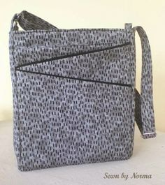 Norma's version of the Lombard Street Bag by ChrisW Designs