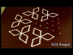 Easy Rangoli with Dots Simple Rangoli Designs Images, Rangoli Designs Flower, Rangoli Border Designs, Rangoli Ideas, Rangoli Designs With Dots, Rangoli With Dots, Kolam Designs, Easy Rangoli, Muggulu Dots