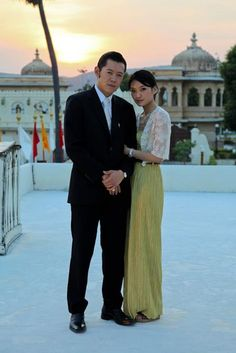 In Okt 2011, shortly after their marriage, the couple payed a statevisit to India