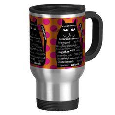 English Teacher Grammar Cat Travel Mug http://www.zazzle.com/english_teacher_grammar_cat_travel_mug-168719431249341702?rf=238282136580680600*
