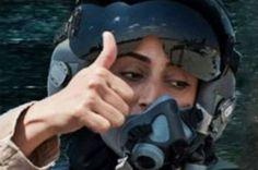 Une femme pilote de chasse pour humilier Daesh