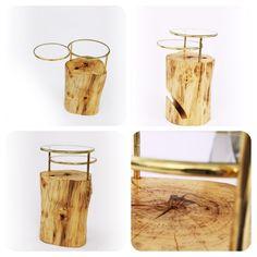 Virginia Harper Design - Blog - Wood Log Furniture Prototypes -- Bench andTable