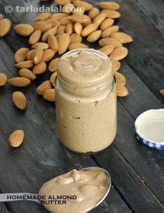 Homemade Almond Butter, for Weight Loss and Athletes