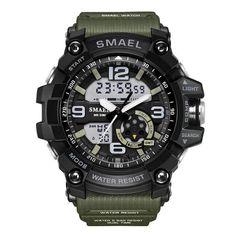 9be8ef16142d Geoshock quartz dual display sports watch. LucesModaRelojes DigitalesRelojes  ...