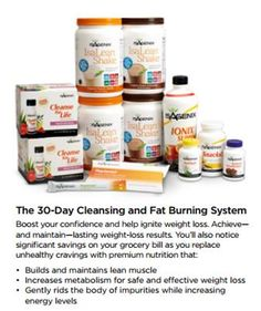 Getting started - 30 day Cleanse and Fat Burning System.  www.jamestrudell.isagenix.com