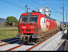 RailPictures.Net Photo: CP 4723 Caminhos de Ferro Portugueses Siemens CP 4700 series at Castelo Novo, Portugal by J.C.POMBO