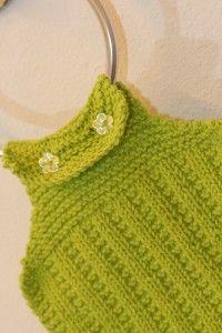 Free Loom Knit Pattern ~ Towel & Washcloth