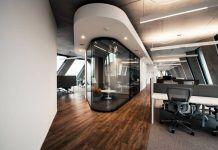 DEGW has designed the interior spaces for Microsoft inside Herzog & de Meuron's iconic building in Milan