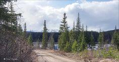 Irrigation (Dunalter) Lake Park and Telkwa Mountain Range Houston, BC. Travel Houston British Columbia