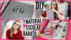 DIY: Customize seu Material Escolar SEM GASTAR MUITO   Volta ás aulas