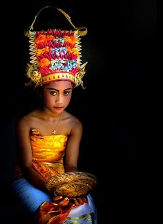girl form Bali, Indonesia
