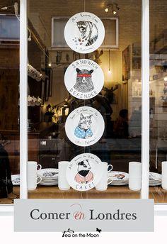 Tea On The Moon - Viajes, niños, música, scrapbook, craft: Comer en Londres, 4 restaurantes muy recomendables...