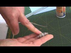 Prima lezione, creare perline di carta