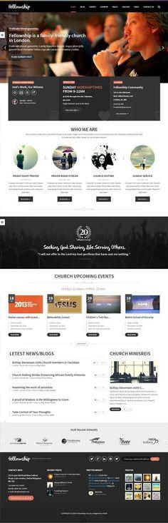 FellowShip : Church WordPress Theme