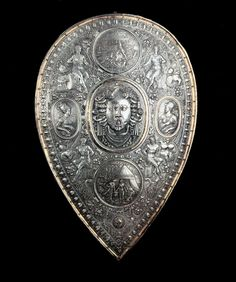 Shield for Francesco I de' Medici by Benvenuto Cellini, 1570 | FindTheData