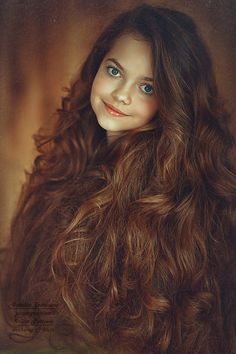 Beautiful hair on this little girl - Long Hair - Child