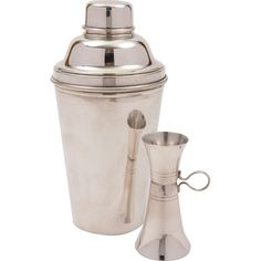 #VintageBeginsHere at www.rubylane.com @rubylanecom --Art Deco Cocktail Shaker With Measure, Circa 1930