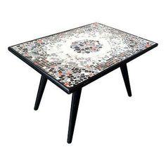 Mid-Century-Tile-Stone-Mosaic-Coffee-Cocktail-Table-50s-Retro-Eames