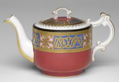 1895 Russian (Dulevo) Teapot at the Philadelphia Museum of Art, Philadelphia