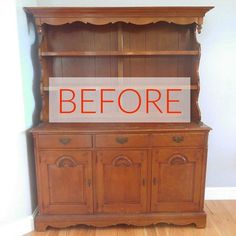 8 Hutch Makeovers We Can't Stop Looking At | Hometalk