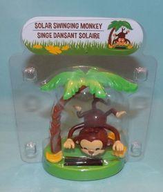 Solar Swinging Monkey *NEW* Summer Series *NEW*