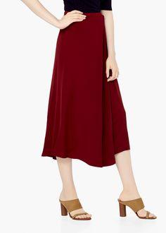 PREMIUM - Flowy wrapped skirt