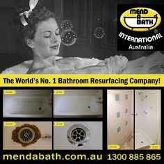 Mend A Bath International Australia  Quality Bathroom Resurfacing, Re-enamelling & Repairs in Perth.  The cost-effective alternative to replacing your old, damaged or out-dated bathroom.  Visit https://mendabath.com.au for more information. Get a free quote today by calling 1300 885 865.  #mendabath #mabia #bathrepair #bathresurface #showerrepair #showerresurface #basinrepair #basinresurface #bathroomrepair