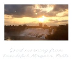 Good morning sunrise video postcard from beautiful Niagara Falls. .  .  #videopostcard #imagesofcanada #explorecanada #discoverontario #discoverniagara #niagaratourism #canada #niagarafalls #fallsunrise #falls #sunrise #morning #beautifulmorning #morningsbelike #sun #sunshine #sundaysunrise #morningbeauty #cliftonhill #discovercanada #timelapsesunrise #cloudandsun #niagarafallspostcard