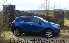 It's Blue Friday for all you Hawks fans- we can't think of a more appropriate Buick than this 2014 Encore in Brilliant Blue Metallic! Happy Friday, everyone! #switch2buick #DoBetterAtBecker #Spokane #CDA http://www.dobetteratbecker.com/